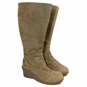 Keen Tall 'Akita' Zip Up Wedge Boots, Size 6.5